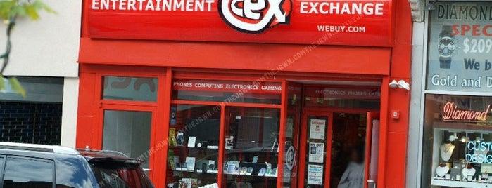 CeX is one of สถานที่ที่บันทึกไว้ของ Guido.