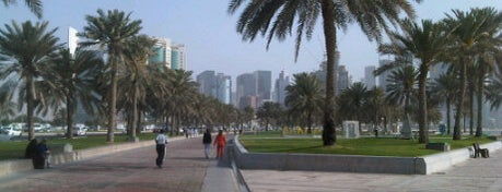 Corniche is one of Doha #4sqCities.