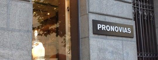 Pronovias is one of Madrid.