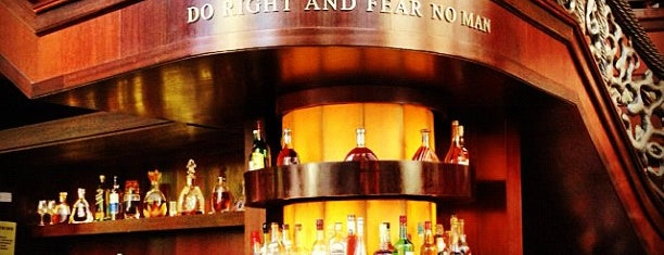 Del Frisco's Double Eagle Steakhouse is one of Family Visits NYC.