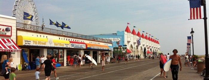Ocean City Boardwalk is one of Favorite Vegan/Vegan Friendly Spots.