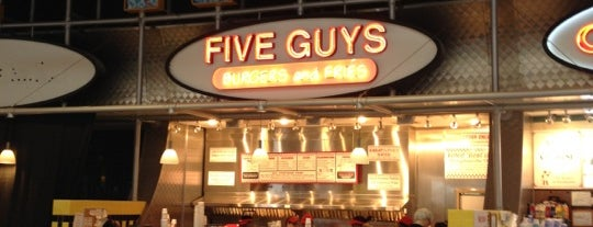 Five Guys is one of Must-visit Food in Durham.