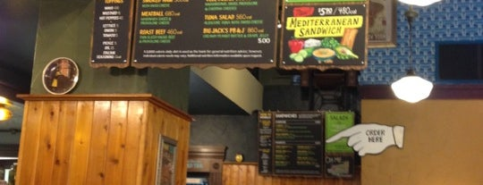 Potbelly Sandwich Shop is one of NYC - Alvaro.