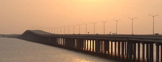 Bay St Louis Bridge is one of Lieux qui ont plu à Aptraveler.