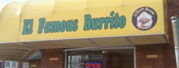 El Famous Burrito is one of Orte, die Carlos gefallen.