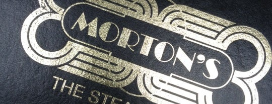 Morton's The Steakhouse is one of MEX DF.