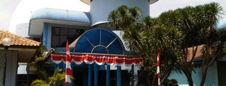 Planetarium Jakarta is one of Jakarta. Indonesia.