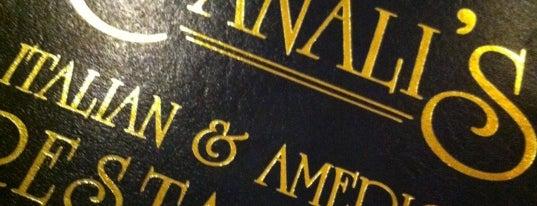 Canali's Italian & American Restaurant is one of Restaurants.