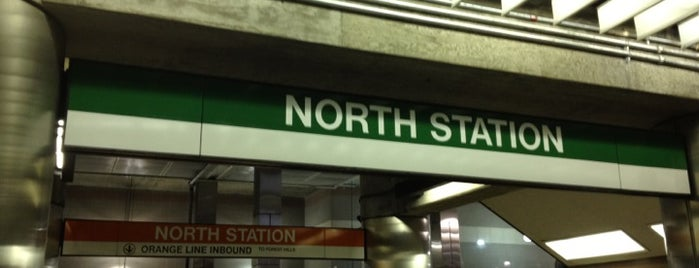 MBTA North Station is one of Beantown.