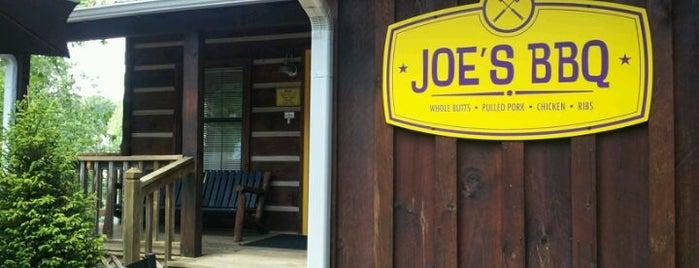 Joe's BBQ is one of Georgia Mountains.