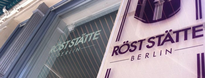 Röststätte Berlin is one of Coffee spots Berlin.