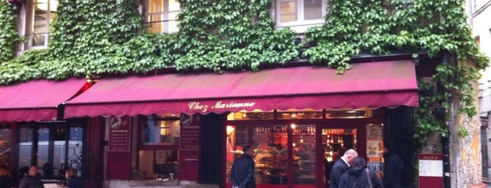 Chez Marianne is one of Mes restaurants favoris à Paris 1/2.
