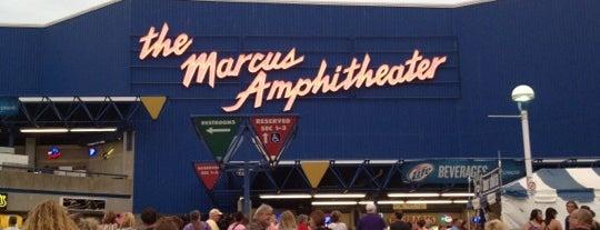 Marcus Amphitheater is one of Milwaukee.