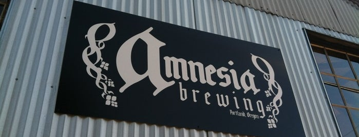 Amnesia Brewing is one of Oregon Breweries.