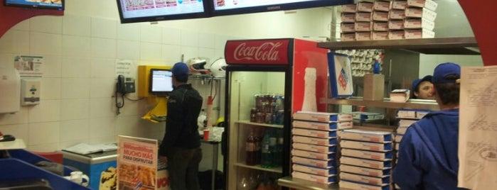 Domino's Pizza is one of Locais curtidos por Patricio.