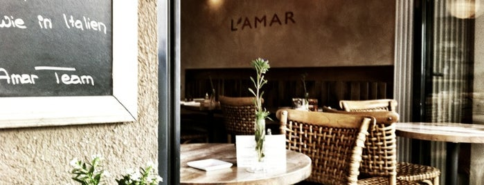 L'Amar is one of Eat.