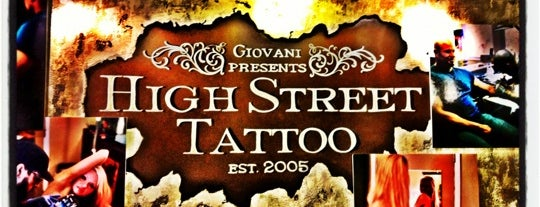 High Street Tattoo is one of Short North Arts District.