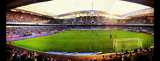 Estadio de Riazor is one of Part 3~International Sporting Venues....