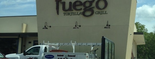 Fuego Tortilla Grill is one of Places I Like.
