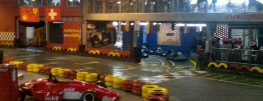 La Pista Indoor Kart is one of Posti che sono piaciuti a Jefrey.