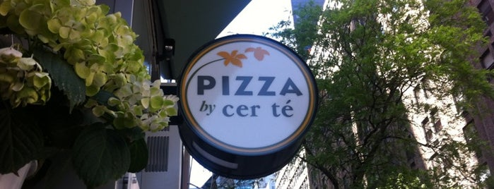 Pizza By Cer Tè is one of Gluten Free NYC.