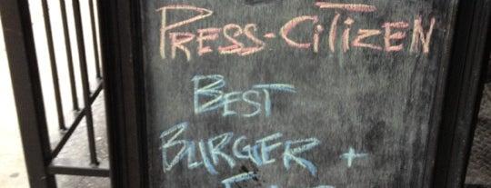 Short's Burger & Shine is one of Iowa City Barmaster.