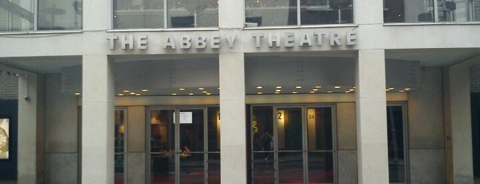 Abbey Theatre is one of Dublin. Ireland.