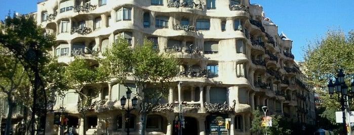 La Pedrera (Casa Milà) is one of Barcelona.