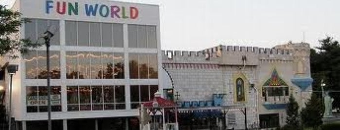Fun World is one of Pinball Destinations.