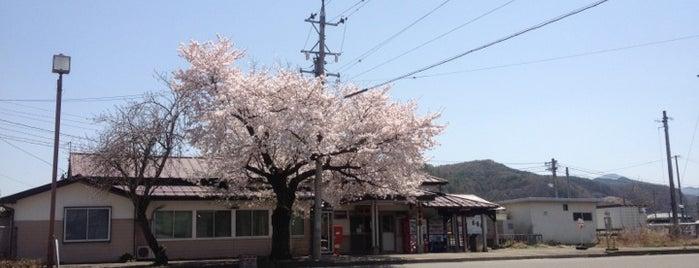 臼田駅 is one of JR 고신에쓰지방역 (JR 甲信越地方の駅).