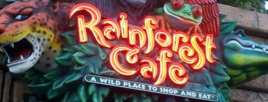 Rainforest Cafe is one of Orte, die Drew gefallen.