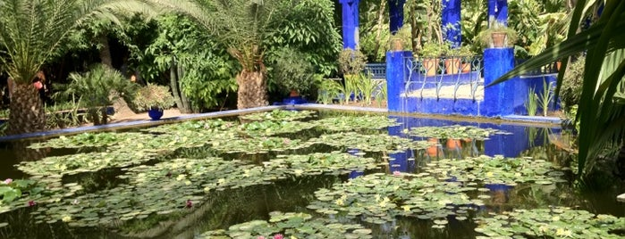 Majorelle Gardens is one of Where, When & Who List-1!.