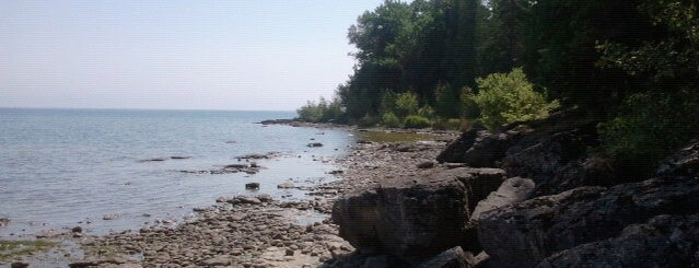 Newport State Park is one of Door county.