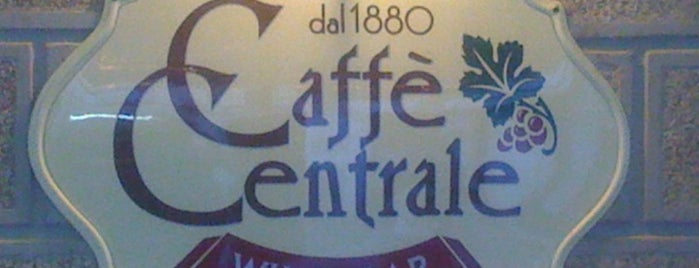 Caffè Centrale is one of American Express - Venue list.