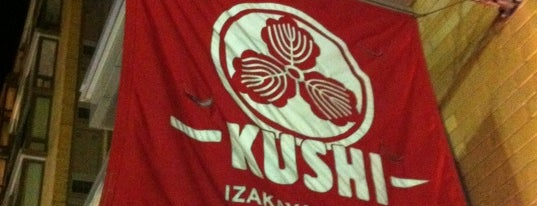 Kushi Izakaya & Sushi is one of District of Oysters.