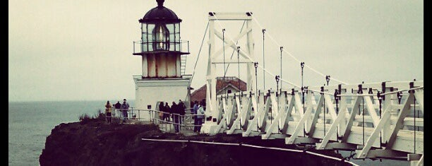 Point Bonita Lighthouse is one of SF.