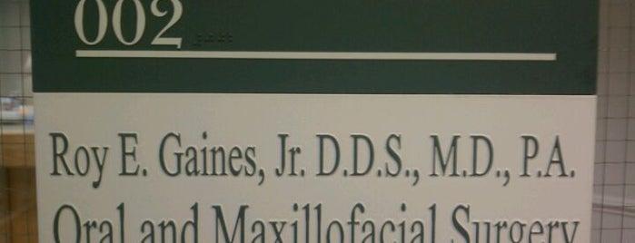 Dr. Gaines is one of Tempat yang Disukai h.