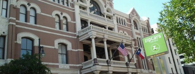 The Driskill is one of SXSW: The Travellers' Guide.