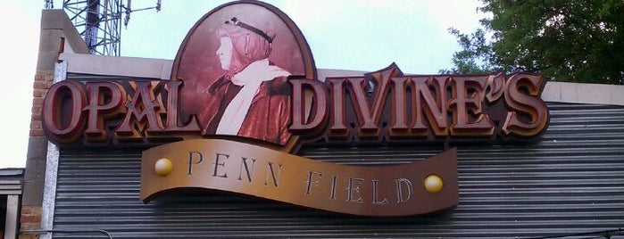 Opal Divine's Penn Field is one of Austin Ghosts.