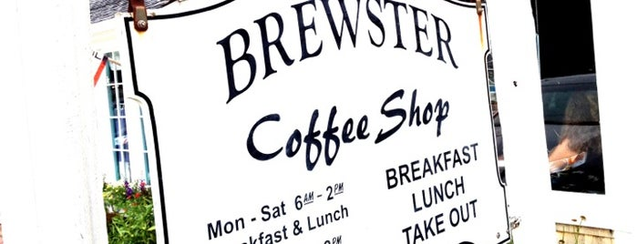 Brewster Coffee Shop is one of The Cape.