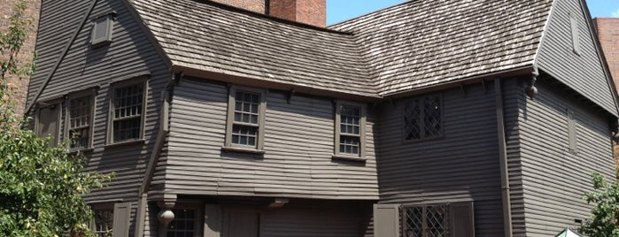 Paul Revere House is one of #BeRevered: Best of the North End.