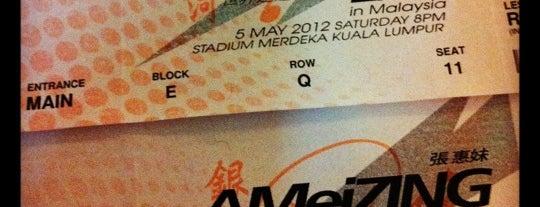Stadium Merdeka is one of International Sports~Part 2....