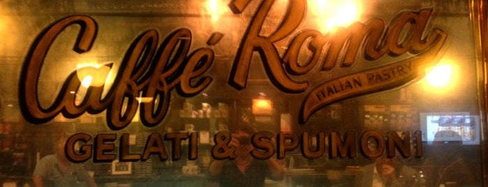Caffé Roma is one of Good Eats In NYC.