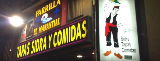 El Manantial is one of Comer en Madrid.