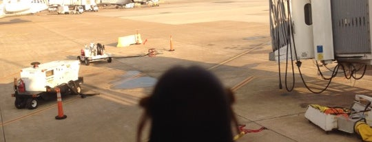 George Bush Intercontinental Airport (IAH) is one of The Travelogue of Haruhi Suzumiya 涼宮ハルヒの旅日記.