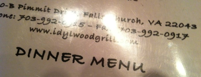 Idylwood Grill and Wine Bar is one of Rock Star.