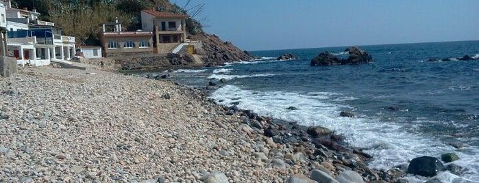Cala Margarida is one of Playas de España: Cataluña.