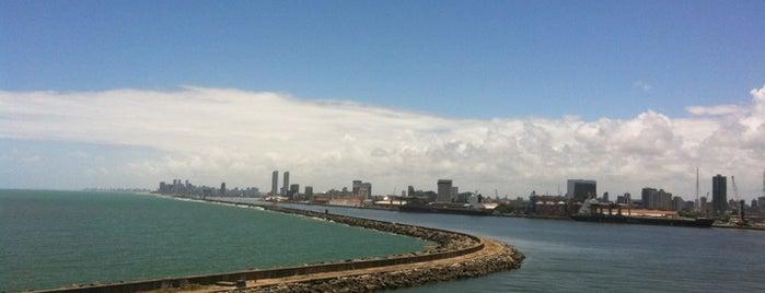 Porto do Recife is one of Locais curtidos por Marcos.