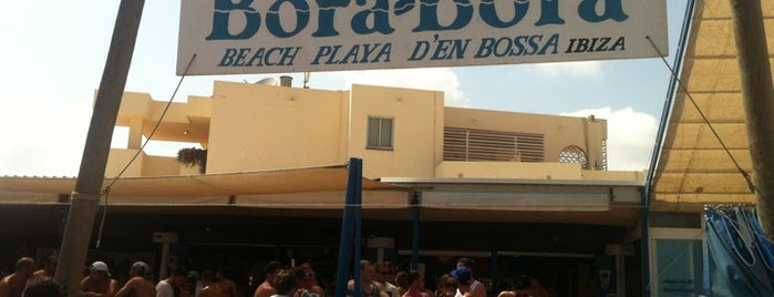 Bora Bora Ibiza is one of Ibiza EDM Summer.