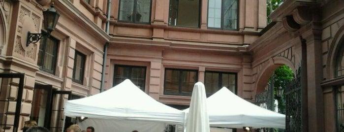 """Livingstonscher Pferdestall Restaurant """"Herr Franz"""" is one of Frankfurt Restaurant."""